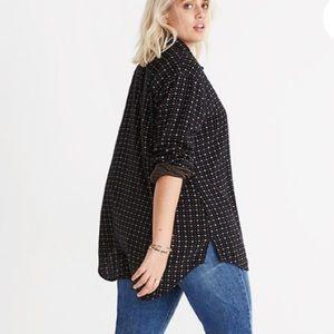 Madewell oversized ex-boyfriend shirt size 3X